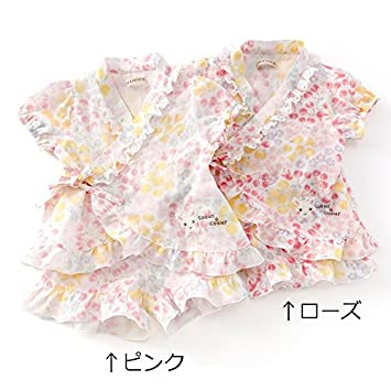 73da2b6ca177b Amazon.co.jp: coeur a coeur (クーラクール) 甚平スーツ (80~100cm ...