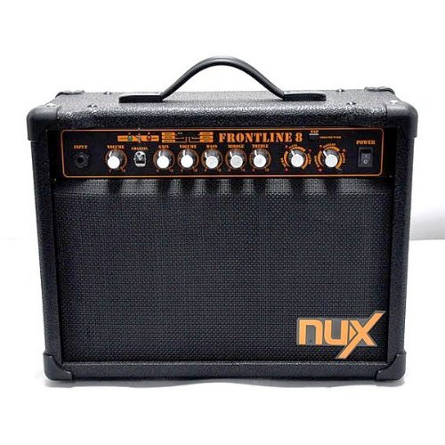 NUX Frontline 8 Electric Guitar Amplifier 8-Watt Clean and Distortion by NUX