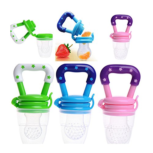 1PCS Feeding Pacifier Baby Fresh Food Fruits Feeder Dummy Soother Weaning Nipple Random Color from Ruimin