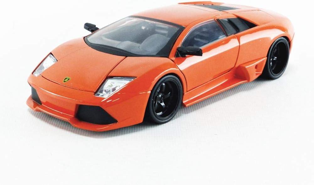 Fast & Furious 1:24 Roman's Lamborghini Murcielago Die-cast Car, Toys for Kids and Adults