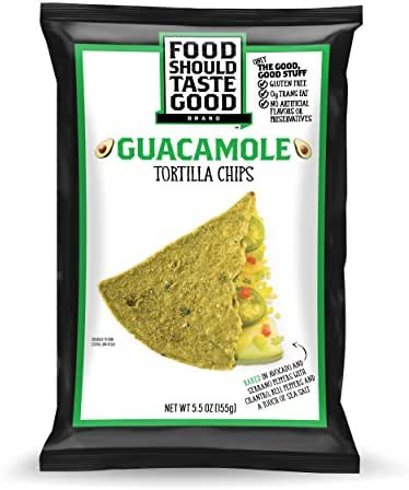 Tortilla & Corn Chips: Food Should Taste Good Guacamole
