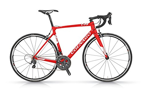 Colnago C-RS ULTEGRA 6800 Road Bicycle, Red/white, 58cm Colnago America