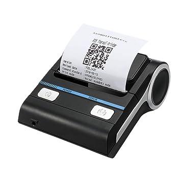 ZUKN Impresora Térmica Bluetooth Portátil Máquina De Impresión De ...