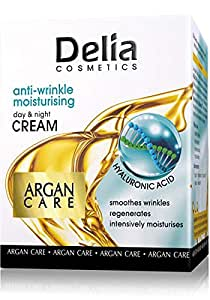 Delia Argan Care Moisturizing Cream with Hyaluronic Acid 40 Plus 50ml