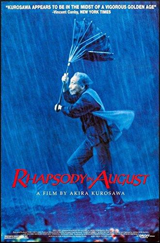 rhapsody-in-august-27x40-original-movie-poster-one-sheet-akira-kurosawa-rolled