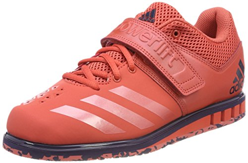 adidas Men's Powerlift 3.1 Fitness Shoes, Red Trace Scarlet/Noble Ink, 10...