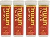 Nuun Hydration: Electrolyte Drink Tablets, Citrus Fruit, Box of 4 Tubes