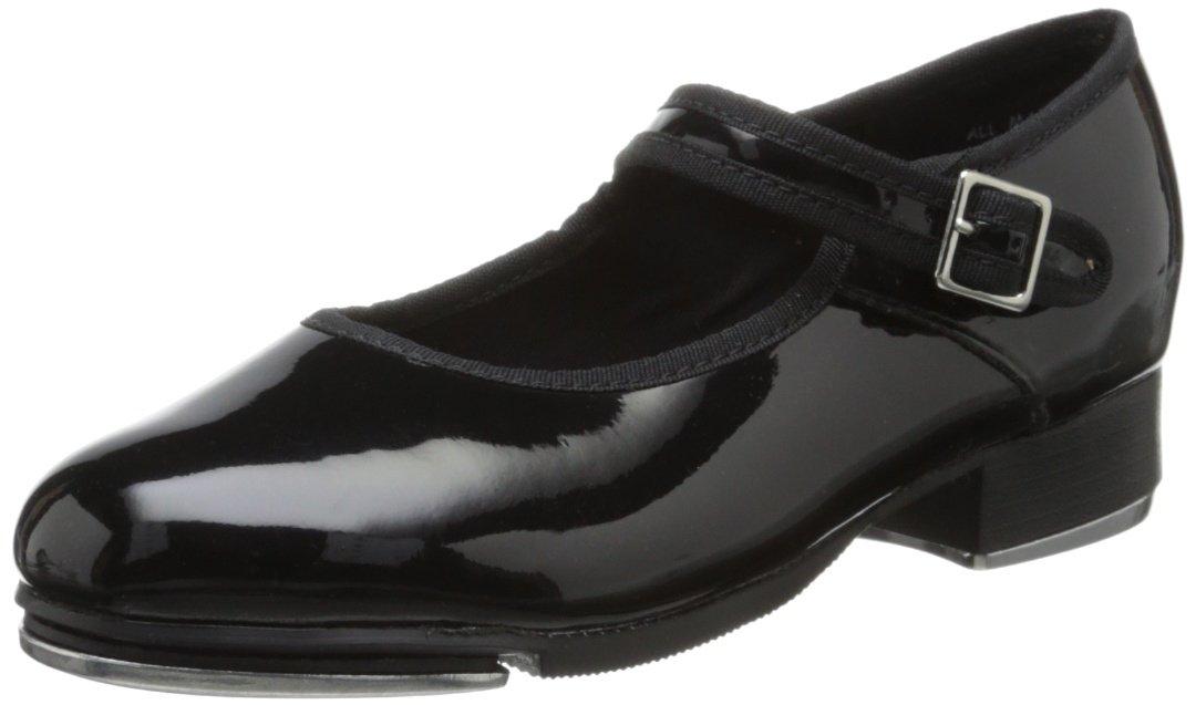Capezio Women's Mary Jane Tap Shoe B002CO2SQ6 4 W US Black Patent