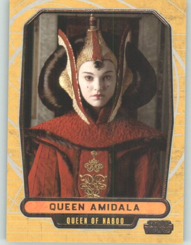 2012 Star Wars Galactic Files #12 Queen Amidala (Non-Sport Collectible Trading Cards) from Star Wars