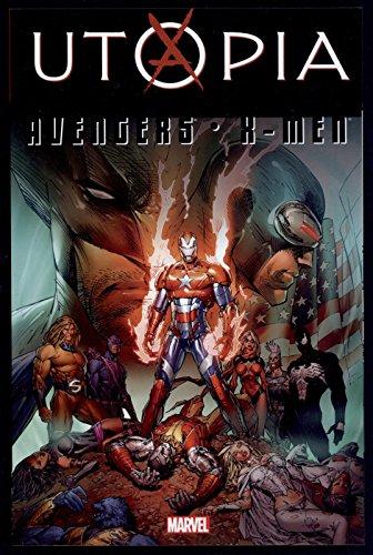 Avengers X-Men Utopia Fraction Trade Paperback TPB Graphic Novel Marvel Comics