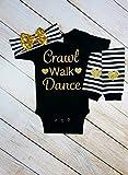 Crawl Walk Dance Girl Set