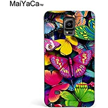 MaiYaCa(TM) M84547 Buterfly Wallpaper phone case for samsung galaxy note4