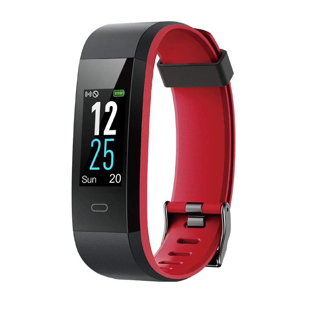Willful Fitness Armband mit Pulsmesser, Wasserdicht IP68 Fitness Tracker Farbbildschirm Aktivitä tstracker Pulsuhren Schrittzä hler Uhr Smartwatch Vibrationsalarm Anruf SMS Beachten fü r iOS Android Handy