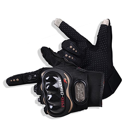 CHCYCLE motorcycle gloves touch screen summer motorbike powersports protective racing gloves (Ride Stretch Gloves)