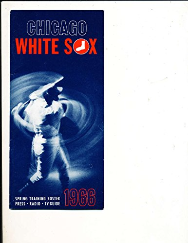 1966 chicago White sox spring Training Players Roster em