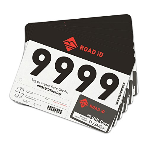 Running Number - Road ID Running Bibs - Race Bibs, Race Numbers, Sports Bibs (101-200)
