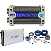 Hifonics Zeus ZXX-2000.4 2000w RMS 4-Channel Car Amplifier+Amp Kit+Capacitor