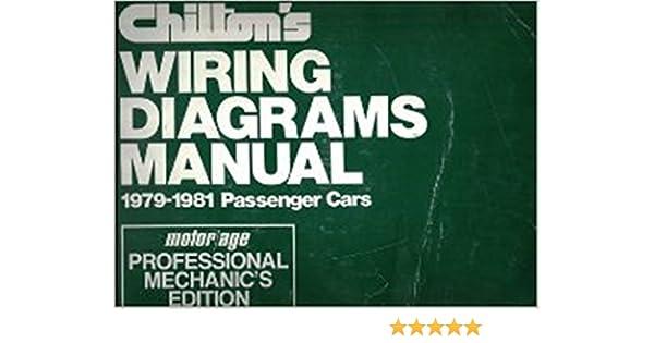 amazon com chilton s wiring diagram manual 1979 1981 passenger rh amazon com free chilton wiring diagrams