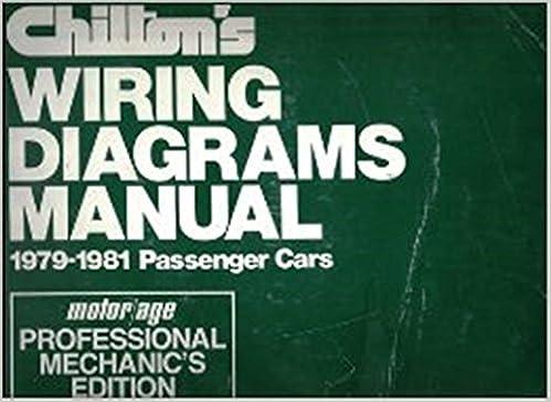 Amazon.com: Chilton's Wiring Diagram Manual , 1979-1981 Passenger Cars (CHILTON'S  WIRING DIAGRAMS MANUAL DOMESTIC CARS) (9780801970207): Chilton Book  Company: BooksAmazon.com