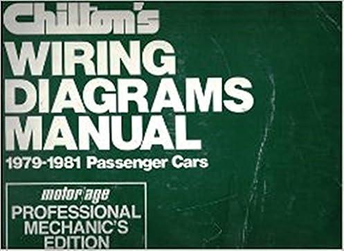 amazon com chilton s wiring diagram manual 1979 1981 passenger rh amazon com  chilton manual wiring diagrams