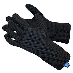 Glacier Glove ICE BAY Fishing Glove, Black, Small