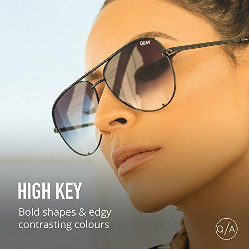 High Quay Black 150 Eyewear Unisex Adulto KEY Negro Fade Sol de Gafas q5qP7zwr