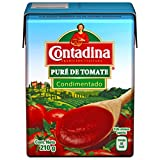 Contadina Empaque con 24 Piezas de Puré de Tomate, 210 g,