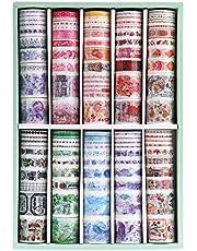Solid Color Washi Tape Set