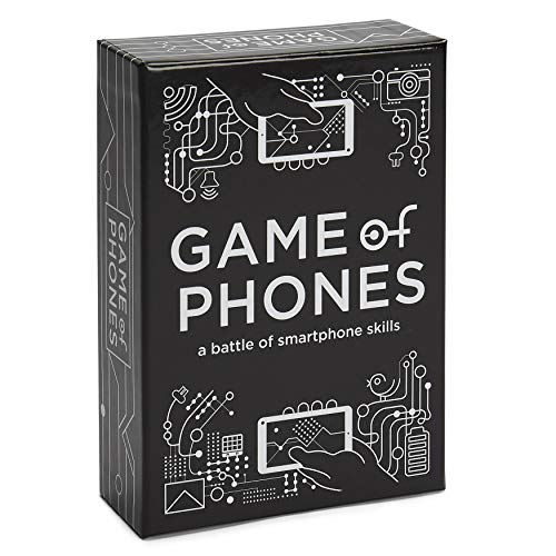 Breaking Games Game of Phones [A Modern Party Game], Brown