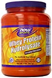 NOW Sports Chocolate Whey Hydrolosate Powder, 2-Pound