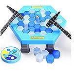 クラッシュアイスゲーム ペンギントラップ おもちゃ家族や友達と一緒に楽しむゲーム パーティ 祝日 クリスマス お正月 元旦 新年 七五三 子供の日 誕生日 プレゼント 盛り上がる 耐久性強い
