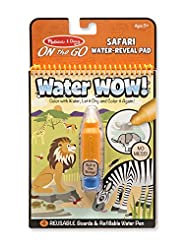 Melissa & Doug On the Go Water Wow! Water-Reveal Activity Pad...