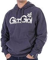 Gio Goi Sweater Men's grey–Rinkdink