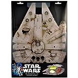 """Star Wars Cutting Board - Millennium Falcon Acrylic Chopping Board - 15"""" x 11"""""""