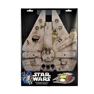 Star Wars Cutting Board - Millennium Falcon Acrylic Chopping Board - 15  x 11