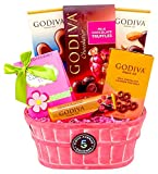 fifth avenue candy bar - 5th Avenue Gourmet The Godiva Treats and Tea Basket