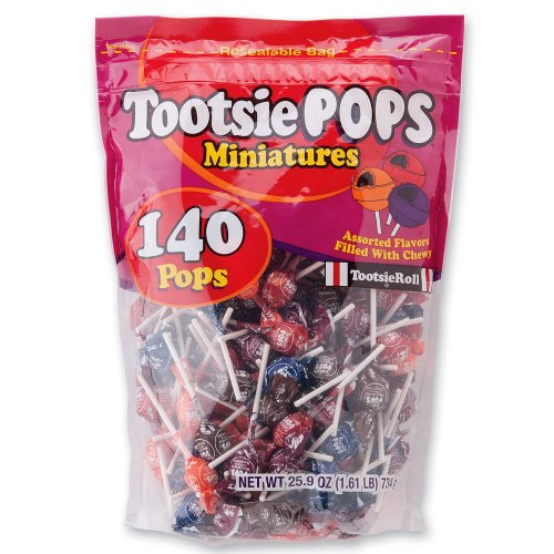 Tootsie Pop Miniatures - 140 per Pack