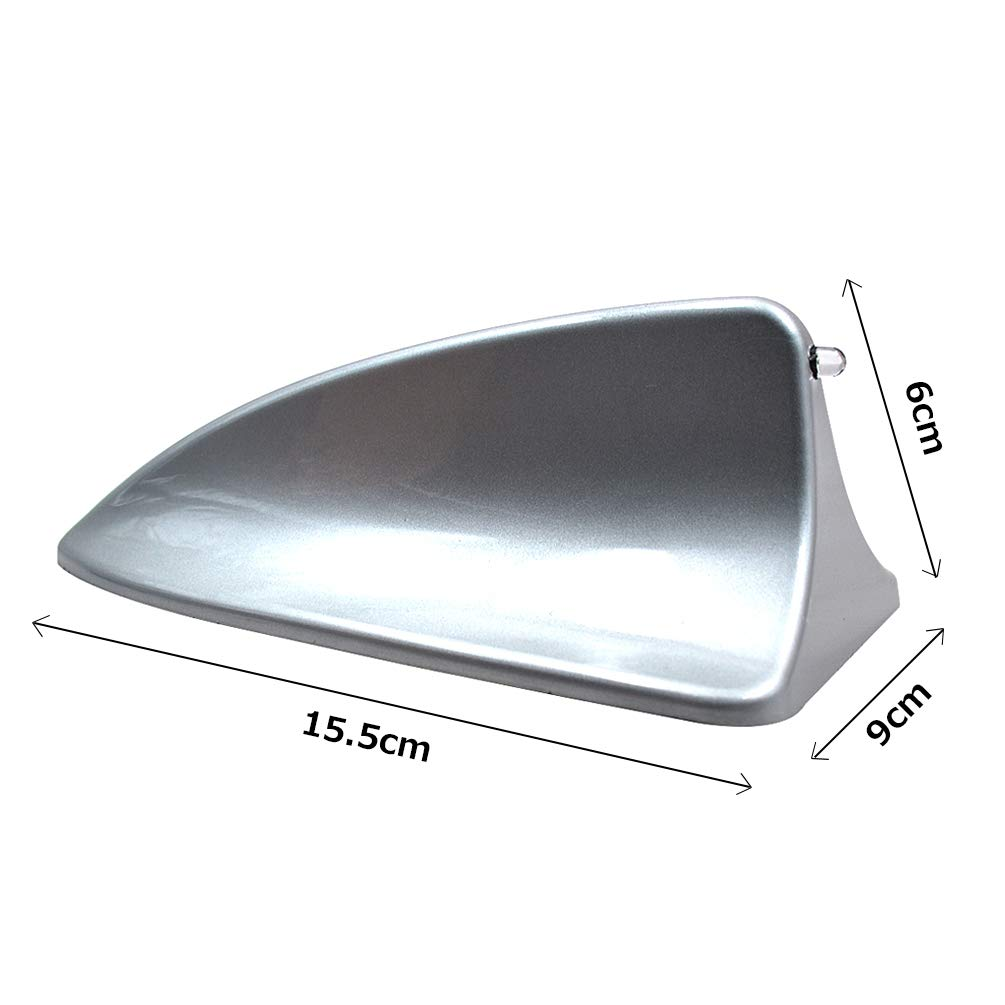 Universal Car Roof Mounted Shark Fin Shaped Antenna Decor TAITIAN Shark Fin Antenna Without FM//AM Connection Cable Antenna Auto SUV Truck Van Taitian Direct 4350469076 White