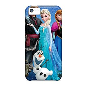 ErleneRobinson Apple Iphone 5c Bumper Hard Phone Cases Allow Personal Design Fashion Frozen 2013 Movie Image [wsn5009dWVT]