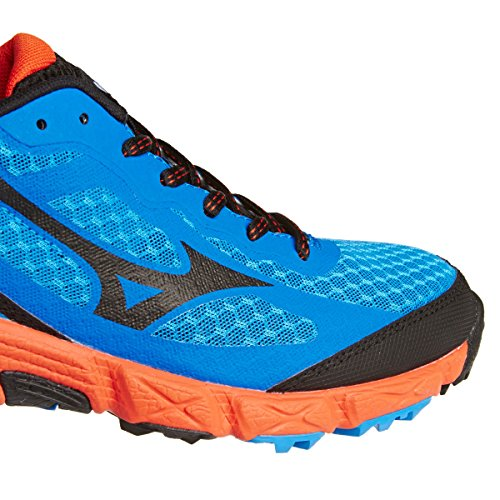 Shoes Blue Trail Running Mizuno AW14 Kien Wave I6qBR