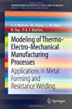 Modeling of Thermo-Electro-Mechanical Manufacturing Processes : Applications in Metal Forming and Resistance Welding, Nielsen, Chris Valentin and Zhang, Wenqi, 1447146425