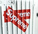 100 Pieces Supreme Stickers Waterproof And Oil