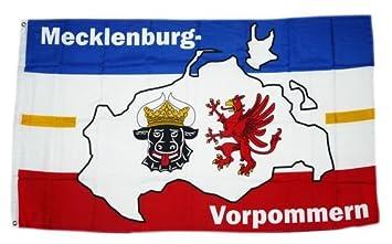 Mecklenburg Vorpommern 150 x 90 cm