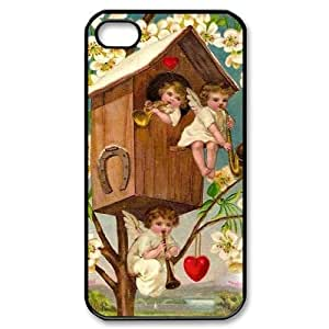 Hard Shell Case Of Cupid Cherub Customized Bumper Plastic case For Iphone 4/4s