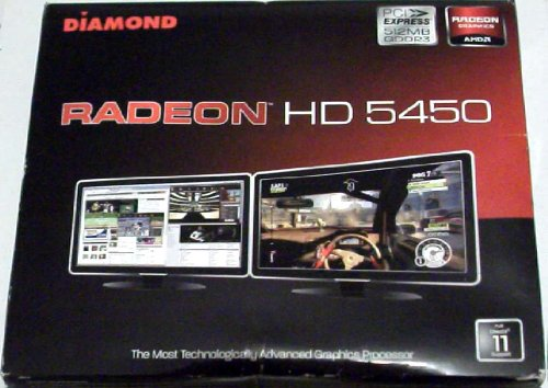512 Card Video Pci Mb (Diamond Ati Radeon(Tm) Hd 5400 Pci Express Video Card, 512Mb Gddr3)