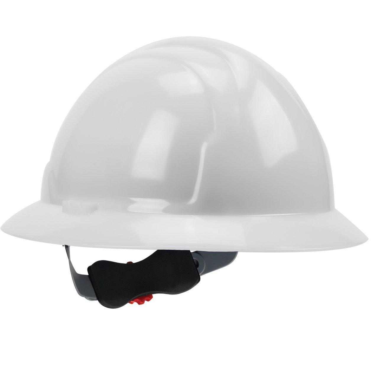 Safety Works Full Brim Style Hard Hat