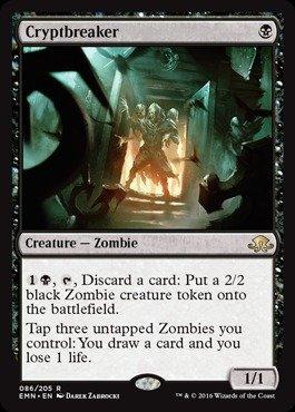 Magic: the Gathering - Cryptbreaker (086/205) - Eldritch Moon
