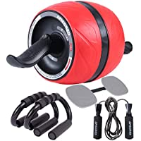 APICCRED Ab Roller Wheel with Ergonomic Grip and Multiple...