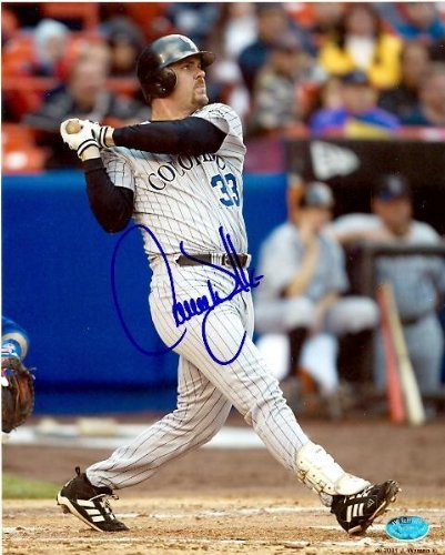 Walker Signed Photo - Larry Walker Signed Picture - 8x10) (Private Signing 2010) - Autographed MLB Photos
