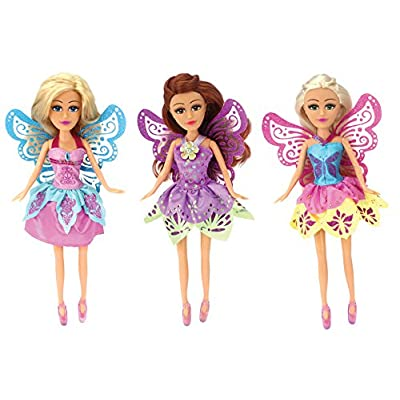 Schylling Pp-Fairy Dolls PPFD: Toys & Games